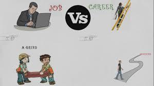 job vs career job vs career