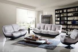 living room contemporary furniture. Living Room:Modern Room Furniture Tables With Comfy White Leather Sofa And Grey Fur Contemporary T