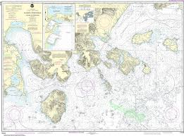 Alaska Nautical Charts Noaa Nautical Chart 16549 Cold Bay And Approaches Alaska Pen King Cove Harbor