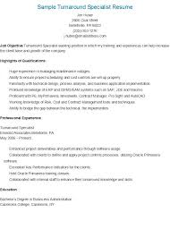 Passport Specialist Sample Resume Magnificent Sample Turnaround Specialist Resume Resame Pinterest