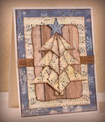 Tea Bag Fold Rustic Christmas Tree I Played With Paper Today