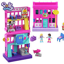 Original Polly Pocket Mini Polly Cute Store Box Girls Car Toys Children  Education Toy Baby Girl Gift Doll Accessories Juguetes Dolls  - AliExpress