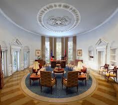 oval office photos. Oval Office 3D Model Photos
