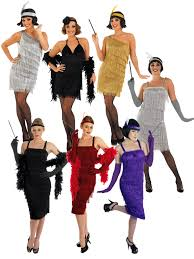 las 1920s flapper costume y womens 20 s charleston fancy dress outfit image 2