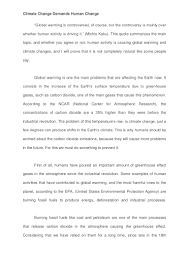 human impact global warming essay global warming causes and  essay on climate change and global warming climate change cross