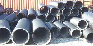 large diameter corrugated plastic pipe