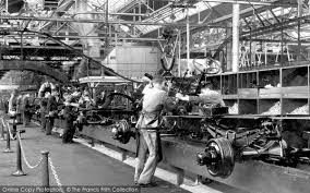 ford works photo of dagenham interior view of the ford works c 1950