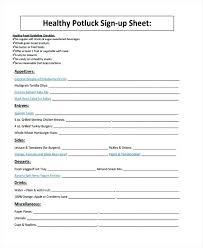 Parent Sign Up Sheet Sample Sign Up Sheet Free Download 9 Free Sample Volunteer Sign Up