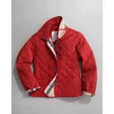 Burberry Military Red Mini Westbury Quilted Jacket, 7-10 - Polyvore & Burberry Military Red Mini Westbury Quilted Jacket, 7-10 Adamdwight.com