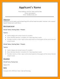 Sample Biodata Resume Biodata Pdf Format 8 Sample For Teachers Job Assembly Word
