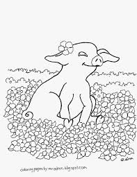 Small Picture Baby Pig Drawing Coloring Coloring Pages