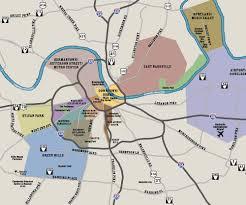 maps update  tourist attractions map in nashville tn