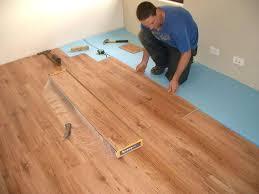 floating wood floor over tile installing hardwood