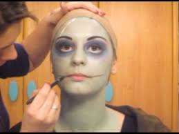 sally nightmare before a make up tutorial