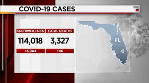 Coronavirus: Florida reports 5,004 new ...