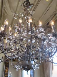antique 8 lamp chandelier