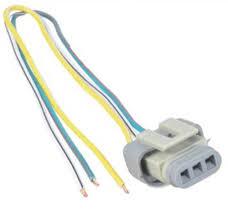 ford g g g alternator harness voltage regulator connector plug details about ford 2g 3g 4g alternator harness voltage regulator connector plug 3 wire pigtail