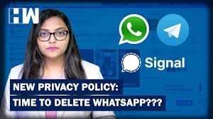 WhatsApp New Privacy Policy: Should You Switch To Signal Or Telegram? -  YouTube