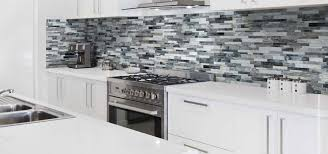 Kitchen With Glass Tile Backsplash Awesome A Guide To Choosing Glass Mosaic Tile Home Remodeling Contractors