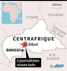 """Résultat de recherche d'images pour """"journalistes russe centrafrique"""""""