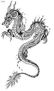Small Picture Festivals Coloring Pages Chinese Dragon Year Coloring Page