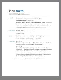 Modern Resume Examples Resume Examples Templates Free Download Modern Resume Templates 17