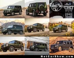Its passion, perfection and power make every journey feel like a victory. Mercedes Benz G Class 2019 Pictures Information Specs