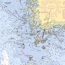 Florida Depth Chart Florida Cedar Keys Nautical Chart Decor