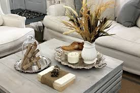 Living Room Table Decorating Shabby Sweet Cottage A New Coffee Table And A Little Fall