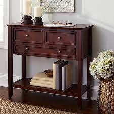 Mahogany Living Room Furniture Ashington Small Console Table Mahogany Brown Pier 1 Imports