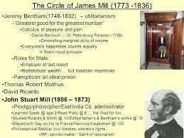 jeremy bentham works the circle of james mill jeremy bentham utilitarianism
