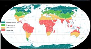 Climates General Climate Zones Meteoblue