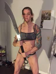 American MMA Star Jessamyn Duke Leaked Nude Vagina Photos.