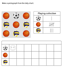 Online Tally Chart Counter Practice Graph And Tally Chart Printable Pictograph