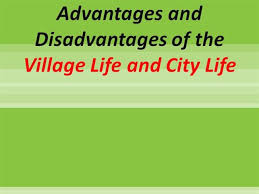 village and city life authorstream