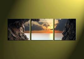Small Picture Wall Art Beachwalk Canvas Wall Art Large Beach Photography