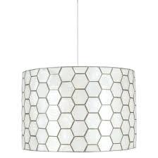 capiz pendant light lamp shell uk