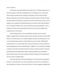 jesus vs beowulf essay zoom zoom