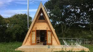 amazing silva tiny a frame cabin from tiny house holidays in united kingdom