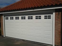 double automatic garage door newark