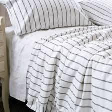 ticking stripe duvet cover set