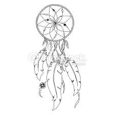 Books About Dream Catchers Vector Art Pattern for coloring book Dream catcher IMAGENS 67