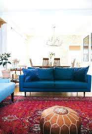 navy and red rug choosing the right sofa for your space in honor of design rugby
