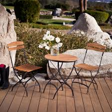 teak bistro table and chairs. Furniture Stylish French Provincial Outdoor Patio Teak Bistro Table And Chairs .