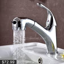 Bathroom Faucets bathroom faucets with sprayer : Special Pullout Spray Single Handle Bathroom Sink Faucet