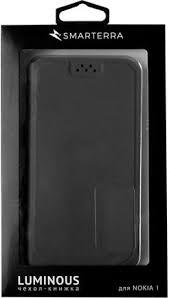 Купить <b>Чехол</b>-книжка <b>Smarterra для</b> Nokia 1 Dark Blue по ...