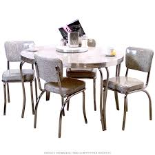 Round Formica Kitchen Table Retro Kitchen Tables And Chairs