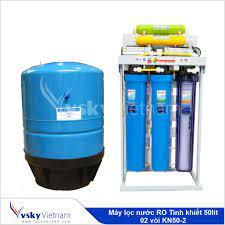 Máy lọc nước RO Tinh khiết 50lit 02 vòi KN50-2 – www.locnuoc360.com