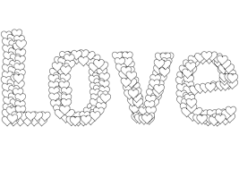Small Picture Love coloring page Free Printable Coloring Pages