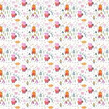 111 best Juvenile Quilting Fabrics images on Pinterest | Quilting ... & Peppa Pig Fabric / Peppa Pig Happy Forest in White Fabric / Peppa Pig, Nick Adamdwight.com